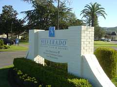 Silverado Resort - Sign