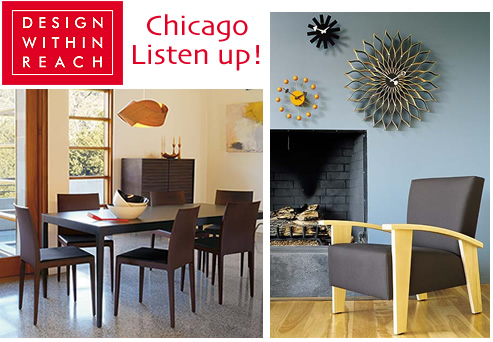 Design Within Reach Warehouse Sale - Chicago