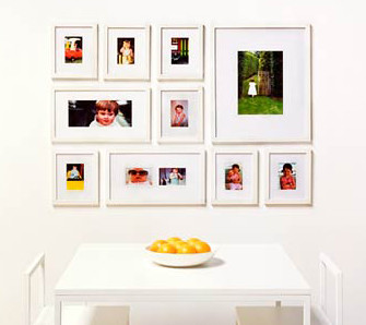 Hanging Photos: Grouping How To