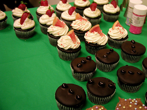 vegan cupcakes!