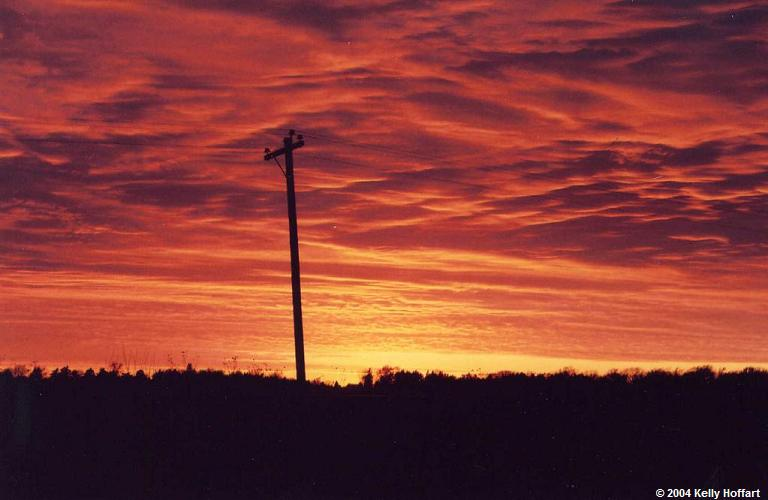 SunsetWithTelephonePole
