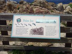 Point Joe - Sign