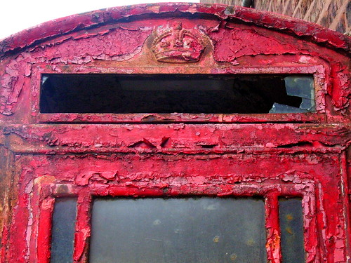 Decayed Telephone Box