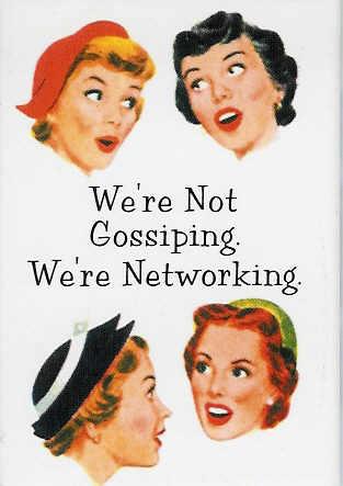 gossiping