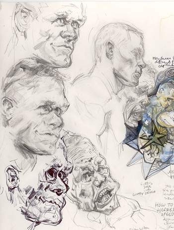 Cena face studies