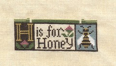 H is for Honey progress as of 4/27/06