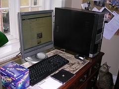 Min nya dator liten