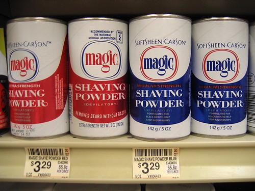 Magic Shaving Powder Black Hair Media Forum Page 1