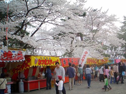 food stalls ( 出店 )