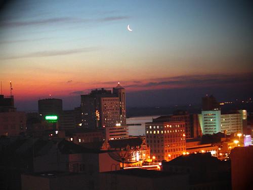 Porto Alegre's night