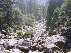 Yosemite Creek Rocks