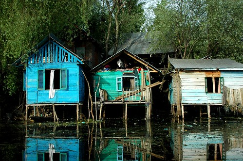 Fishing Village on the Dal, Srinagar