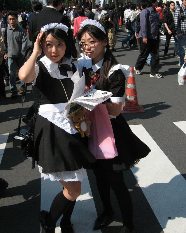 A better shot of the maids