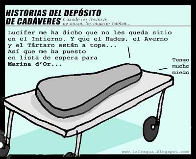 Historias del depósito de cadáveres