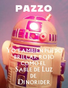 Red Pazzo droid