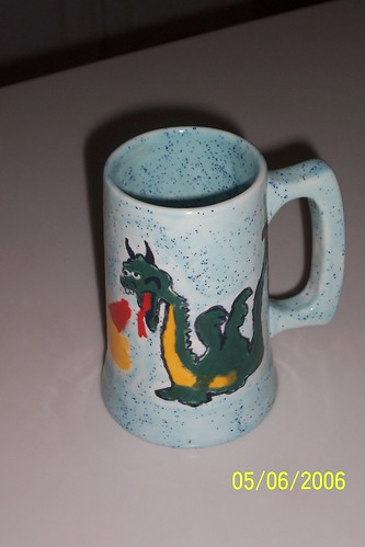 flagon with a dragon
