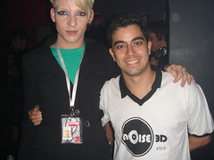 Daniel Peixoto (da montage) e Eu
