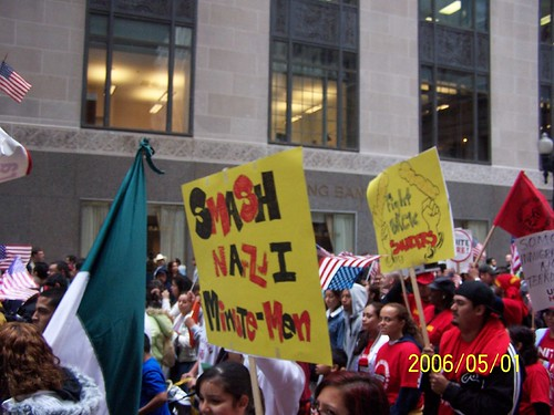 Migrant worker march
