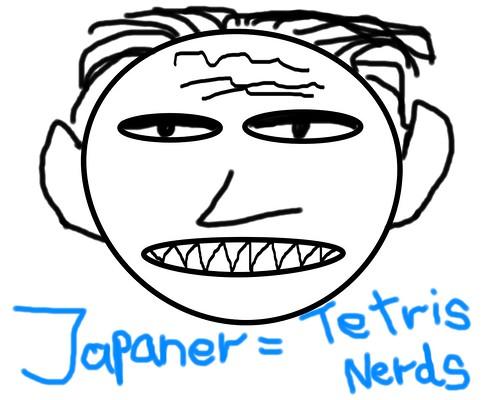 Japanischer Tetrisnerd