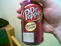 Dr. Pepper Berries & Cream