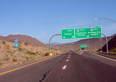 Highway 93 to Interstate 40