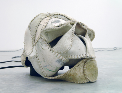 Brian Jungen stolen sculpture Casey Kaplan