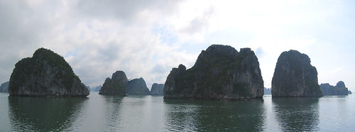 Ha Long Bay panorama