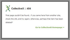 Collective X 404