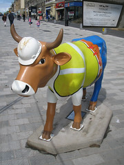 No 46 Moo-rrison Cowstruction at Edinburgh Cow Parade 2006