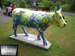 No 55 Summer at Edinburgh Cow Parade 2006