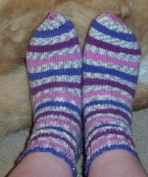Plum socks
