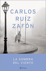 """""""La sombra del viento"""" de Carlos Ruiz Zafón"""