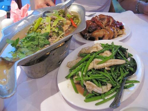 Tong Palace dinner