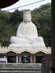 Estatua Ryozen Kannon