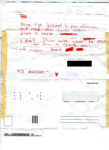 Cami G. Fan Letter