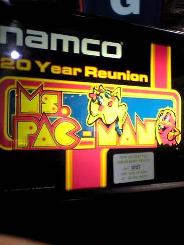 i answer the siren call of ms. pac-man