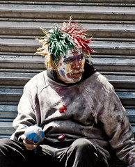 Pobre Payaso ='0( photo by organiq