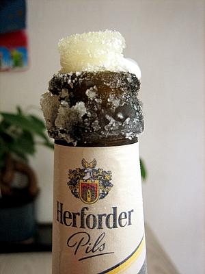 Bier-Eis