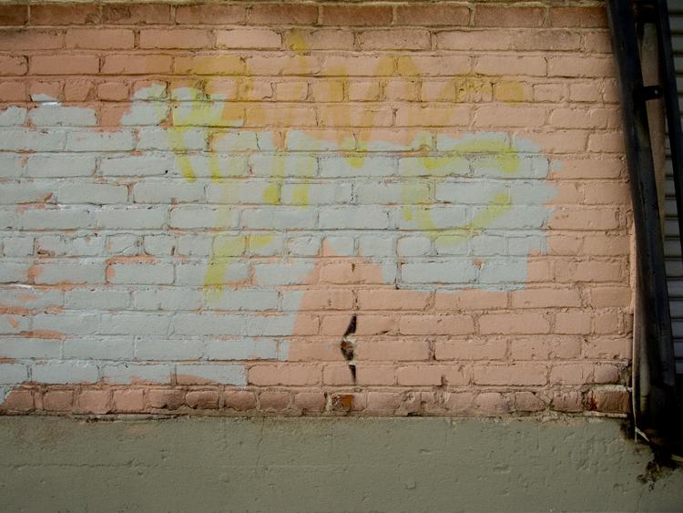 downtown LA wall
