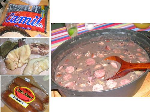 Feijoada Completa(ブラジル風黒豆シチュー)