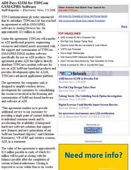 ADI_pays_23M_for_TTPCom_GSMGPRS_Software