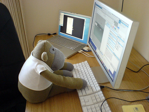 Web Design. So easy even a monkey can do it!