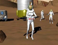 Vallis Dao Astronaut Test #1