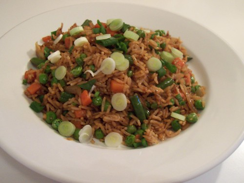 Egg-Vegetable Fried Rice