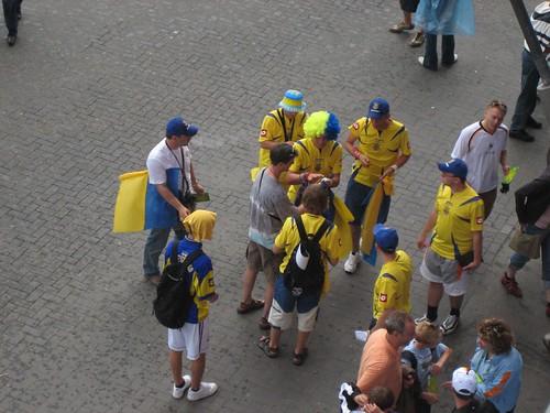 Ukrainische Fans