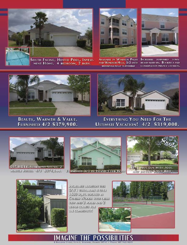 real estate for sale in Orlando Florida luxury homes ad page 2