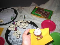 micro-dessert buffet