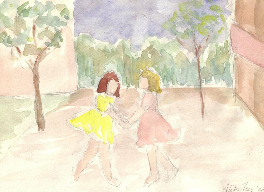 tonnie's yellow dress