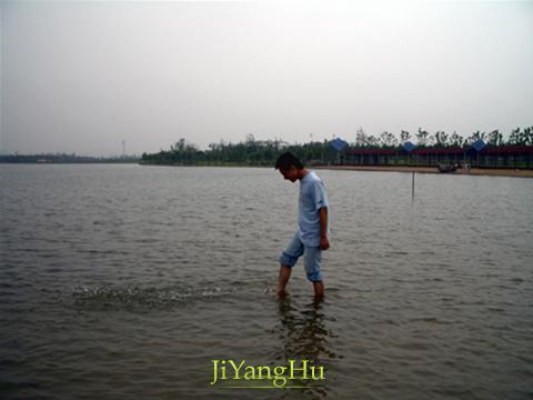 暨阳湖湖水