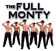 The Full Monty Show Art